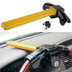 Universal Car Auto Steel Steering Wheel Lock Anti Theft Security Device Usa Vp