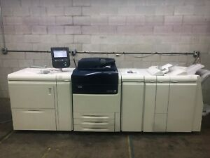 Xerox Versant 80 Press Color Copier Printer Scanner Only 95k Copies 80 Ppm