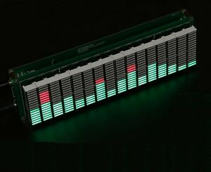 16 Level Led Music Audio Spectrum Indicator Amplifier Board With Agc Mode K9