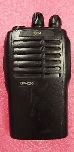 Relm Rpv 4200 Compact 16 channel Two way Vhf Radio 102