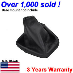 Fits 2005 2011 Hummer H3 Automatic Leather Shifter Shift Boot Cover Black