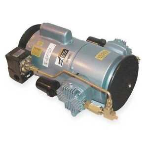 Piston Air Compressor 1hp 115 230v 1ph Gast 6lcf 246s m616nex