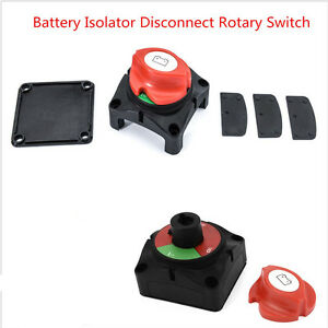 Car Rv Marine Boat Battery Selector Isolator Disconnect Rotary Switch Cut On Off