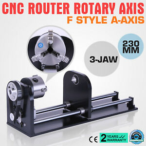 Rotary Axis For 60w 80w 100w 130w Co2 Engraver 230mm Track Laser Cutting Usb