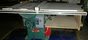 Oliver 232 Table Saw Biesemeyer Fence