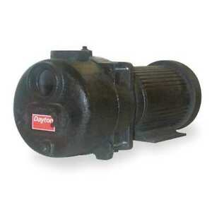 Dayton 12n807 Sewage trash Pump 7 5 Hp