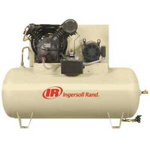 Ingersoll rand 2545e10fp 200 3 Electric Air Compressor 2 Stage 10 Hp