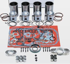Fits Cummins Case 4bt3 9 Out of frame Rebuilt Kit Piston 3907156