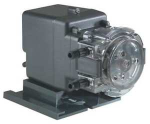 Peristaltic Pump Fixed Rate 45mphp2 3gpd 100psi 1 4 w Stenner 45mfh1a1sug1