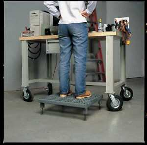 Work Platform Adjustable Height Steel 5 To 8 In H Zoro Select Ahw l 2460