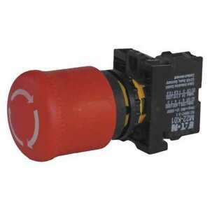 Emergency Stop Push Button red Eaton M22 pvt k02