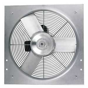 Heavy Duty Direct Drive Exhaust Fan Dayton 10d965