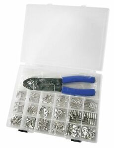 Non insulated Wire Terminal Kit W tool 270 Piece