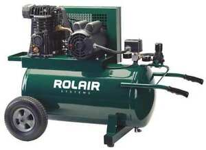 Rolair 5520mk103 0072 Air Compressor 1 5 Hp 115vac 135 Psi