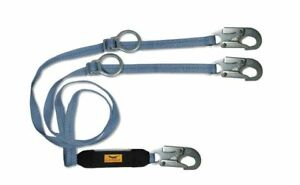 6 Ft Tie back Shock absorbing Lanyard Condor 19f389