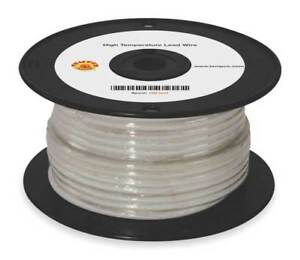 High Temp Lead Wire 10 Ga max Temp 842 F Tempco Ldwr 1045