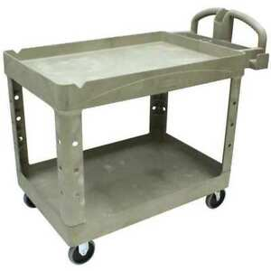 Utility Cart 500 Lb Load Cap Rubbermaid Fg452088beig