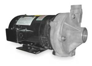 Dayton 2zxl6 Stainless Steel 3 Hp Centrifugal Pump 208 230 460v