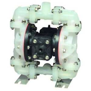 3 4 Polypropylene Air Double Diaphragm Pump 23 Gpm 180f