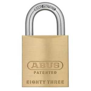 Keyed Padlock different 1 3 4 w Abus 83 45 Rk Kd 200
