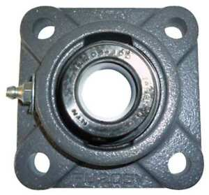 Flange Bearing 4 bolt ball 1 5 8 Bore Ntn Uelfu 1 5 8m