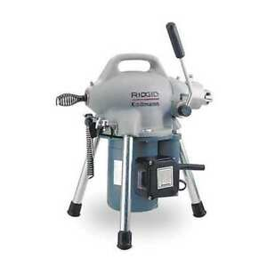 Sectional Drain Cleaning Machine 1 6 Hp Ridgid 59000