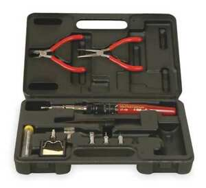 Soldering Iron Kit With 5 Tips Master Appliance Ut 100 tc