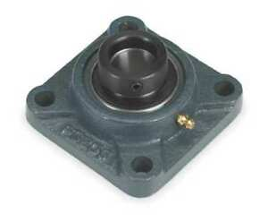 Flange Bearing 4 bolt ball 1 3 16 Bore Dayton 3fcz1