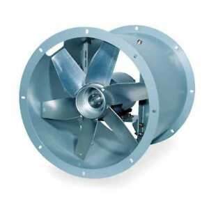 24 Tubeaxial Fan 200 To 230 460vac Dayton 4tm85