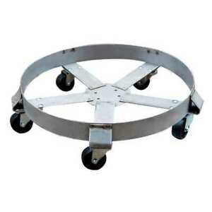 Drum Dolly 1100 Lb 6 1 2 In H 55 Gal Zoro Select 6fvh8
