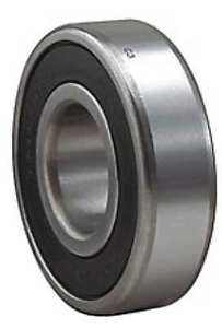 Radial Ball Bearing sealed 40mm Bore Dia Skf 6208 2rsnr Jem