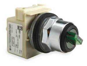 Illum Selector Switch 2 Pos 30mm green Schneider Electric 9001k11j1g