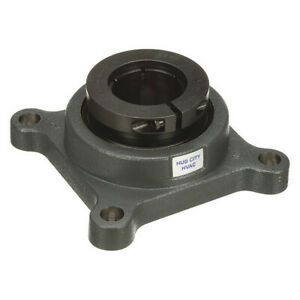 Flange Bearing 4 bolt ball 2 Bore Hub City Fb280hwahx2