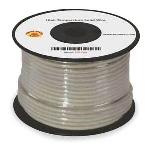 High Temp Lead Wire 14 Ga max Temp 482 F Tempco Ldwr 1048