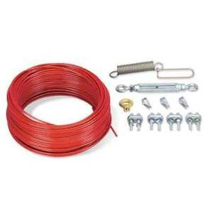 Cable Kit plastic Coated Steel 84 Ft L