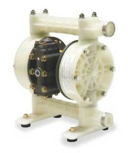 3 4 Polypropylene Air Double Diaphragm Pump 21 Gpm 180f