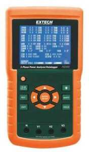 Power Analyzer datalogger up To 30000a Extech Pq3450