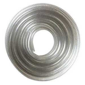 E James 1530 125175 Suction And Transfer Hose 25 Ft clear