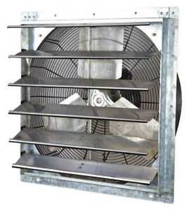 Shutter Mount Exhaust Fan Dayton 1hlb3