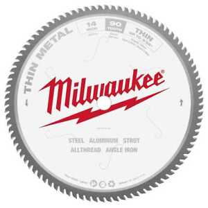 Milwaukee 48 40 4510 14 90t Carbide Tipped Dry Cut Circular Saw Blade New