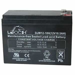 Edwards Signaling 12v10a Fire Alarm Battery 10 Amps