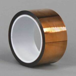 Dupont Kapton Hn Film Tape Polyimide Amber 3 In X 50 Ft G4244335