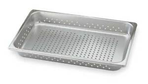 Vollrath 30013 Perforated Pan Full size 3 9 Qt