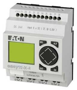 Programmable Relay 24v Eaton Easy512 dc r