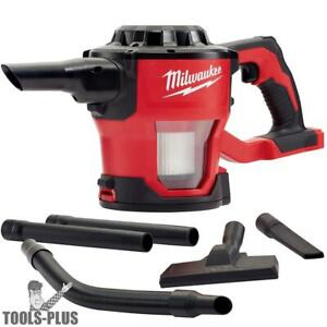 Milwaukee 0882 20 M18 Compact Vacuum tool Only With Hepa Filter New