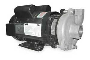 Dayton Stainless Steel 3 Hp Centrifugal Pump 230v 2zwx1