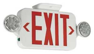Hubbell Lighting Compass Led Exit Sign emergency Lights