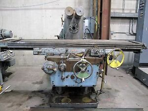 15887 Kearney Trecker Model 425tf Plain Horizontal Milling Machine