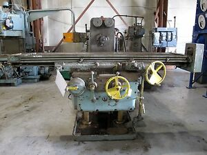 15886 Kearney Trecker Model 425tf Plain Horizontal Milling Machine