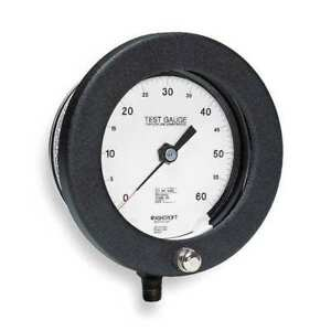 Pressure Gauge 0 To 60 Psi 4 1 2in 1 4in Ashcroft 45 1082as 02l 60 Psi